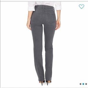 NYDJ Marilyn Double Snap Straight Leg Jeans